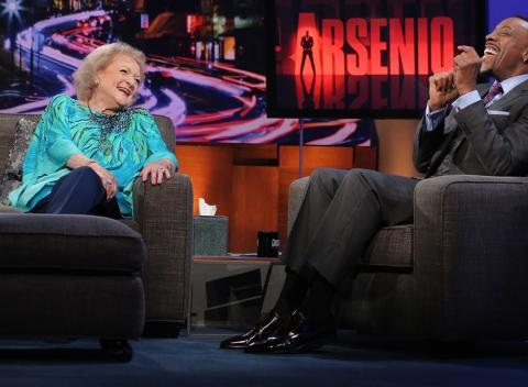 News video: Betty White Plays 'Password' With Arsenio
